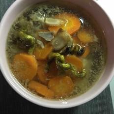 石斛胡萝卜洋参汤