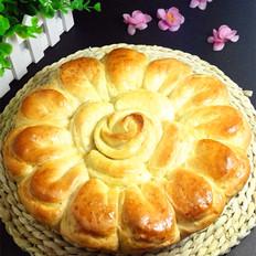 花样肉松面包