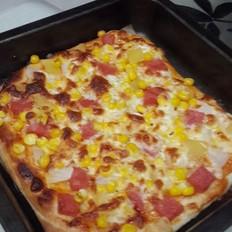夏威夷披萨的做法