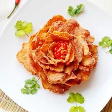 花开富贵牡丹鱼片