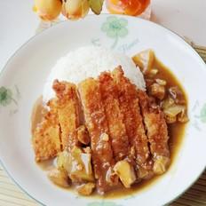 鸡肉咖喱猪排饭