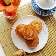 桃酥皮月饼