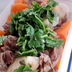 山药胡萝卜炖牛肉