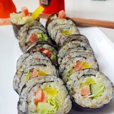 自制大众寿司