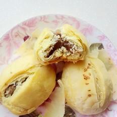 传统糕点牛舌饼