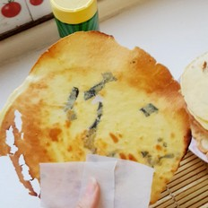 脆皮鸡蛋饼的做法