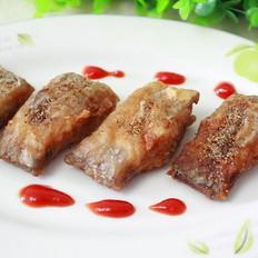 香酥带鱼的做法