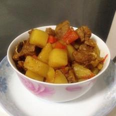 咖喱薯仔焖排骨