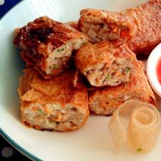 五香猪肉卷
