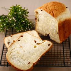 面包机做葡萄干吐司