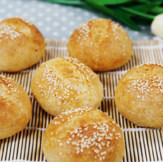 面包的做法大全:全麦芝麻包