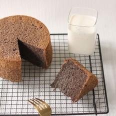 黑米戚风蛋糕