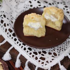 杏仁酥粒马芬蛋糕