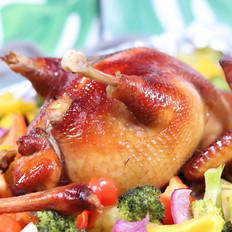 家庭版脆皮烤鸡,做法简单易懂