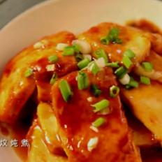 鲍鱼汁烧豆腐