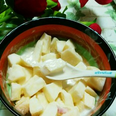 苹果酸奶沙拉的做法大全