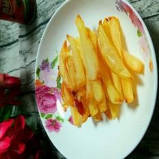 懒人烤原味薯条的做法
