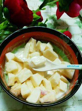 苹果酸奶沙拉的做法