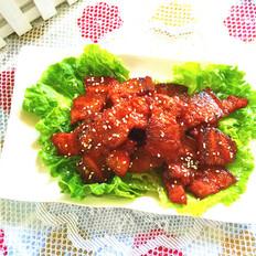 韩式辣酱烤五花肉