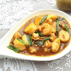 玉子豆腐烩虾仁