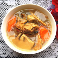 腊鸭煲笋干汤