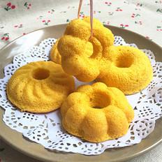 南瓜花朵蛋糕