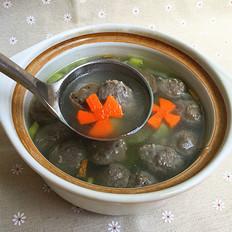 牛筋丸丝瓜汤