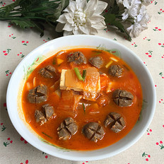 牛筋丸杂锅汤