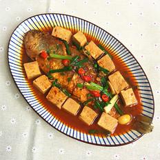 冻豆腐炖大黄鱼
