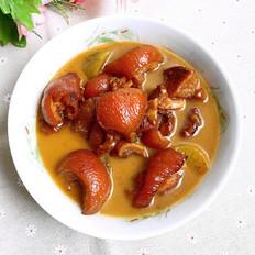 砂锅焖猪蹄