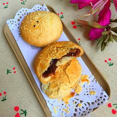 红豆沙酥饼