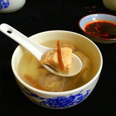 铁皮石斛煲排骨汤