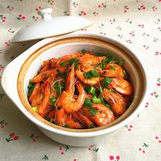 粉丝鲜虾煲