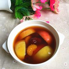 红枣苹果红糖水