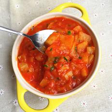 土豆西红柿浓汤