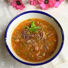 粉丝羊杂汤