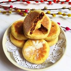 红糖坚果饼