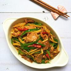 仔姜炒瘦肉