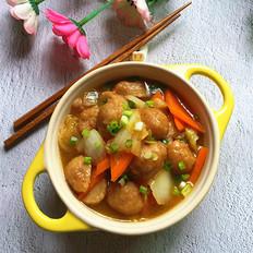 大白菜烩肉丸