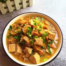 五花肉炖酸菜冻豆腐