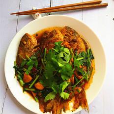酱烧海立鱼
