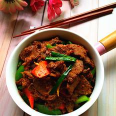 辣椒炒卤牛肉