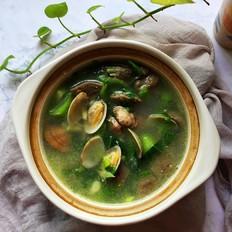 沙甲芥菜汤