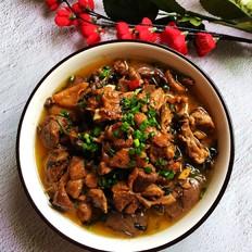 紫苏焖鸭肉的做法