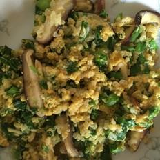 鸡蛋菜米饼