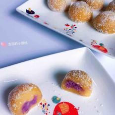 南瓜香芋紫薯糯米糍