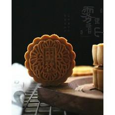 莲蓉肉松月饼