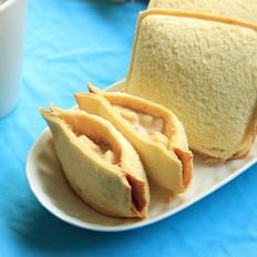 香蕉三明治的做法