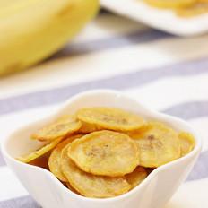 平底锅香蕉片