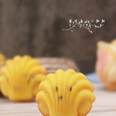 百香果柠檬玛德琳